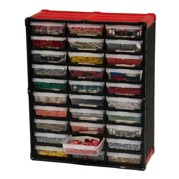 30-Compartment Small Parts Organizer - Drawer - Cabinet - Tool Hardware Bin - $24.50