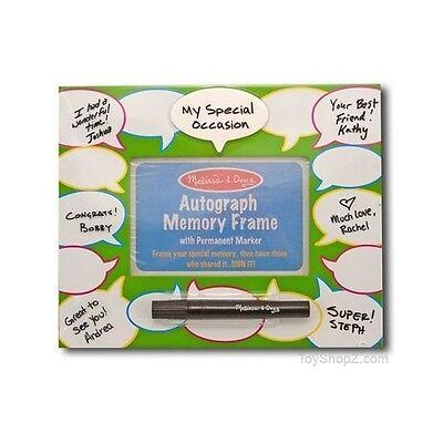 -  Melissa & Doug Conversation Autograph Memory Frame (NEW) 3261