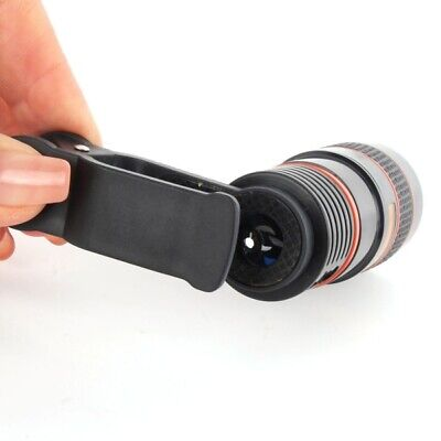 8X Zoom Telephoto Telescope Lens Phone Camera Clip For iPhone XR 5/6/7/8 HOT