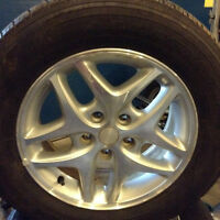 215/65/R16 GOODYEAR ALLEGRA TOURING tires with Alloy Rims