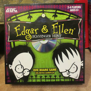 Game - Scavenger Hunt -Edgar and Ellen - DVD board game