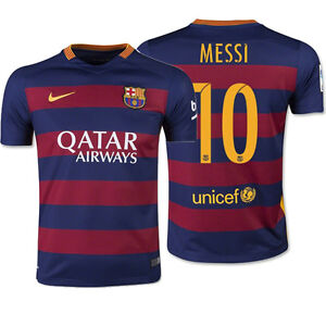 FC Barcelona Soccer Jersey Messi 10 High Quality