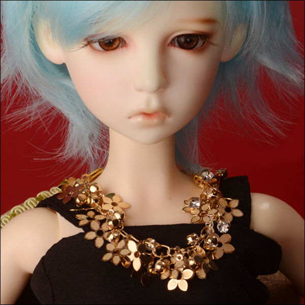 DOLLMORE BJD ACCESSORY NEW SD&Model Gold Seakey Necklace