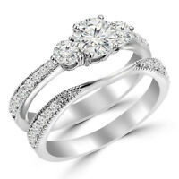 Gorgeous diamond engagement ring 2.15CTW Bague de fiançailles
