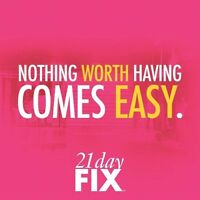 21 Day Fix starts Sept 5th