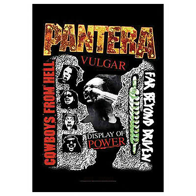 PANTERA 3 Albums Tapestry Cloth Poster Flag Wall Banner 30