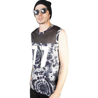 Kill City T Shirt Windward Mesh And Tie Dye Men Basketball - Jersey T-shirt Tie