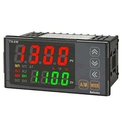 Digital Pid Temperature Controller Autonics Tk4w-24rn Relay 2alarm Output