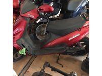 Maliguti 50cc with 70cc kit
