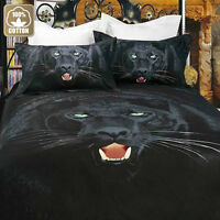3D print , 3-piece cotton duvet cover set, brand new!