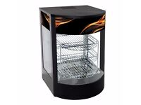 Tansik Pizza Commercial Hot Food Pie Warmer Display 8034