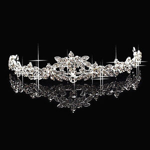 HOT-Elegant-Sparkly-Crystal-Rhinestone-Crown-Tiara-Wedding-Prom-Brides-Headband