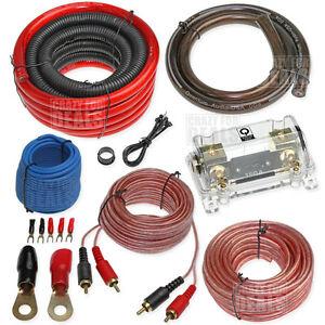 amp wiring kit 0 gauge ebay. Black Bedroom Furniture Sets. Home Design Ideas