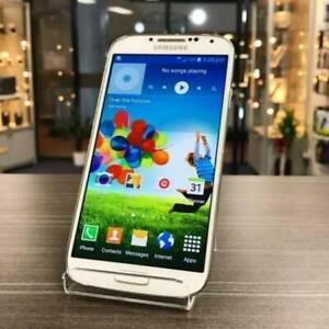 AS NEW SAMSUNG S4 16GB WHITE AU MODEL UNLOCKED WARRANTY