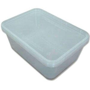 200x-Clear-Plastic-Microwave-Containers-Tubs-650ml-Small-Takeaway-Food-Freezer