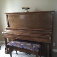 Free upright piano to a good home