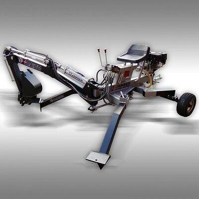 MINI BACKHOE, JANSEN EXCAVATOR,TOWABLE, TRENCHER, 10 hp,TOWABLE BACKHOE!
