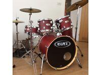 Mapex V series 5 piece drum kit