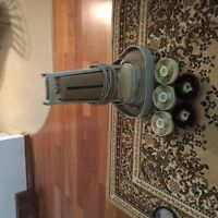 Antique floor polisher and shampooer