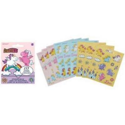 111 unicorn Stickers book Party Favors Teacher Supply suns rainbows