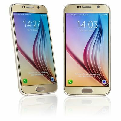 SAMSUNG GALAXY S6 - 32GB - GOLD - OHNE SIMLOCK - ANDROID SMARTPHONE - HÄNDLER !!