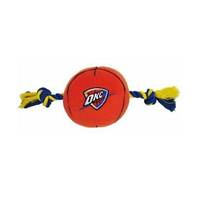 Oklahoma City Thunder Basketball Dog Toy