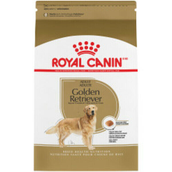 Royal Canin Golden Retriever Adult Dry Dog Food Size 30-lb b