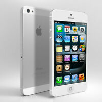 White 16GB iPhone 5 - Rogers/Chatr (Box + Accessories)