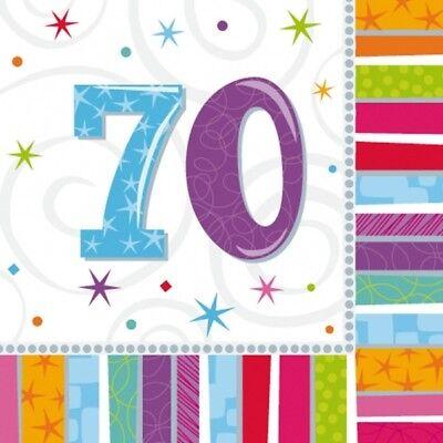 HL 70 GEBURTSTAG PARTY DEKORATION DEKO NEU OVP (Sport Geburtstag Dekorationen)