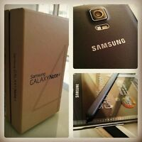 SAMSUNG GALAXY Note 4, BRAND NEW, SEALED BOX, UNLOCKED FACTORY