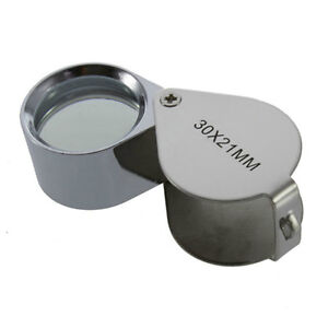Loupe 30x power solid construction.