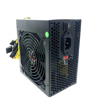 """680 WATT 680W POWER SUPPLY for Intel AMD PC Desktop Computer NEW 4.5"""" Fan Gold"""