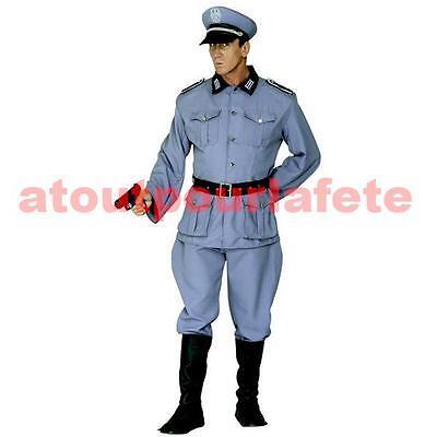 Déguisement de soldat, uniforme d' Officier Allemand, Wehrmacht, - Ss Uniform Kostüm