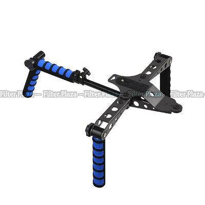 DSLR Rig Shoulder Mount Movie Kit Support for Camera Canon 5D II III 7D 700D 80D