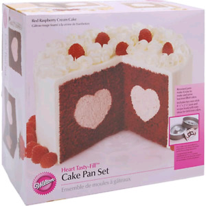 Heart Tasty Fill Cake Pan Set