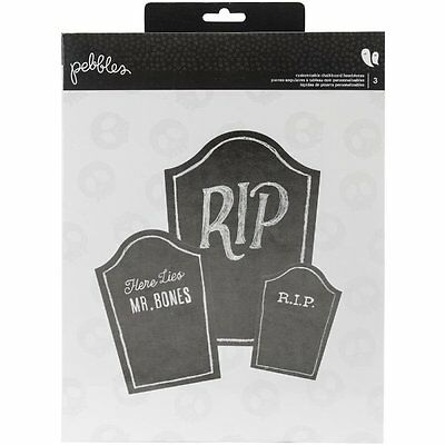 Pebbles - Boo! Collection - Headstones - 3 Sizes - Halloween - Gravestone