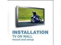 Tv wall mounting bracket