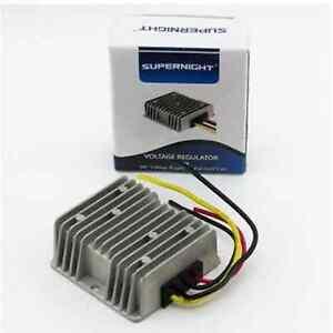SUPERNIGHT®  DC 36V to DC 12V 10A 120W GOLF CART Voltage Reducer Converter
