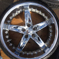 mags roue jantes 20`` 5x112 225/30 zr 20``