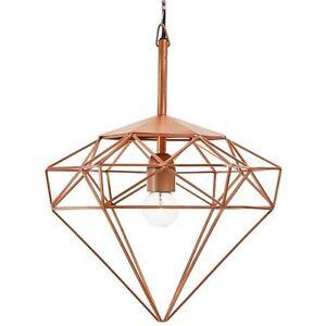 Brand NEW Diamond Copper Ceiling Lamp