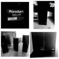 4 Paradigm Speakers & Yamaha Subwoofer $225 need gone ASAP!