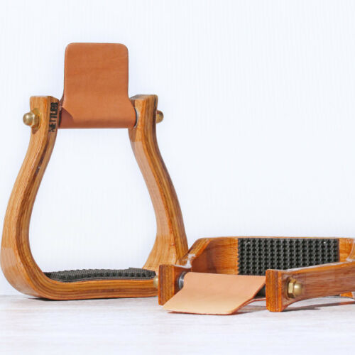 NETTLES GRIPPER BARREL RACER WESTERN STIRRUP WITH OR WITHOUT THE LEVELER