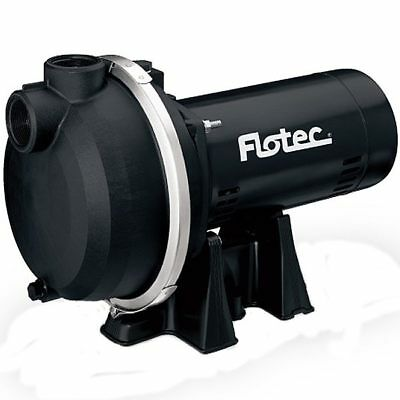Flotec Fp5172 - 67 Gpm 1-12 Hp Self-priming Thermoplastic Sprinkler Pump