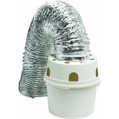 4  X 5 Proflex Indoor Inside Electric Clothes Dryer Vent 5 Pc Kit Tdidvkzw