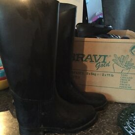 Kids horse riding boots size 12