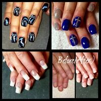 Gel Nails/Toes/Shellac! Accepting new clients!
