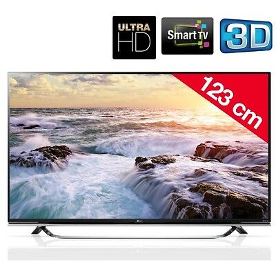 "LG 49UF850V - SMART TV LED 3D ULTRA HD 49"" POLLICI TV TELEVISORE CASA UFFICIO"