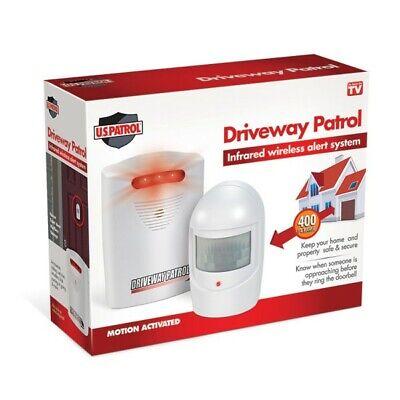 Driveway Patrol Garage Motion Sensor Alarm Infrared Wireless Alert System Motion Sensor Alarm System