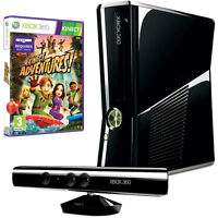 Xbox 360 Slim 250GB with Kinect (NTSC)