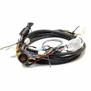 mercury 15ft outboard boat engine push to choke ignition wiring harness